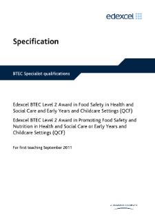 Childcare nvq level 2 coursework